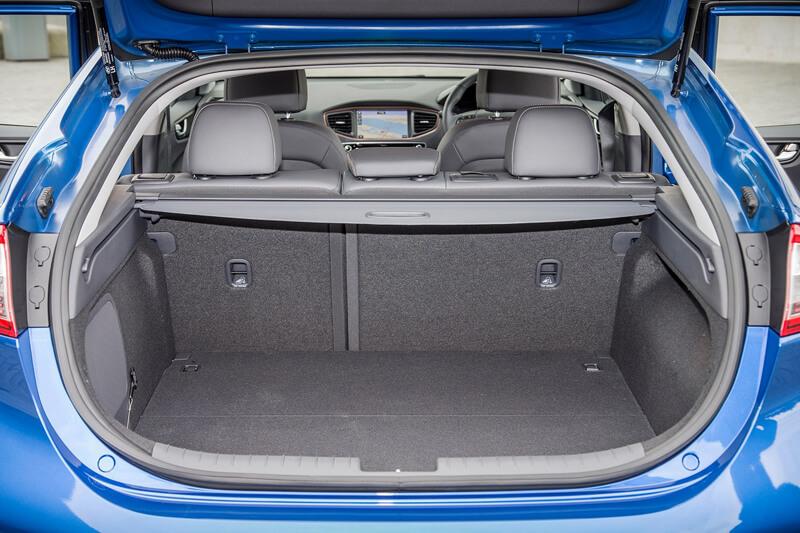 Hyundai Ioniq Electric Boot