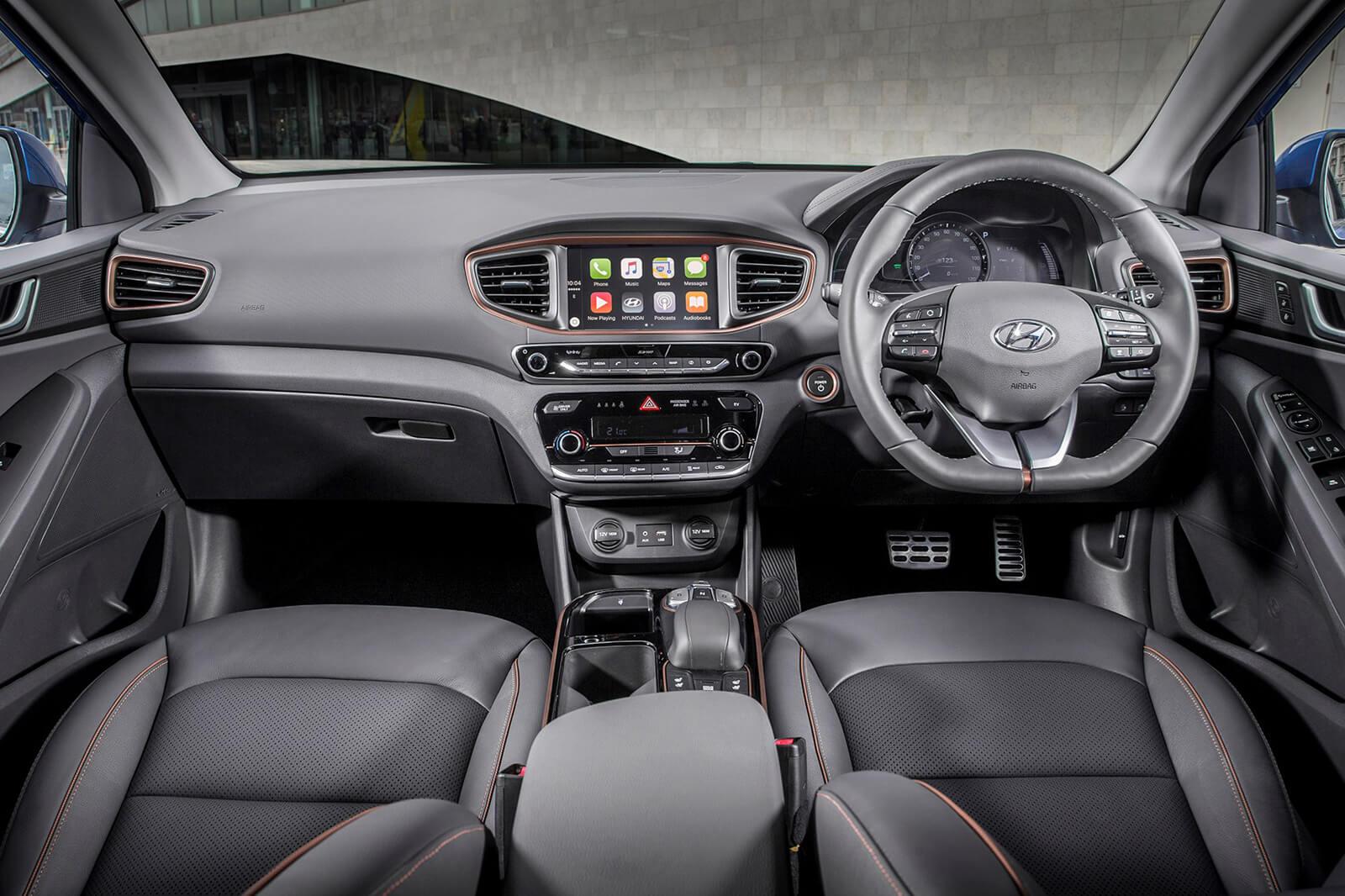 Hyundai Ioniq Electric Interior Front