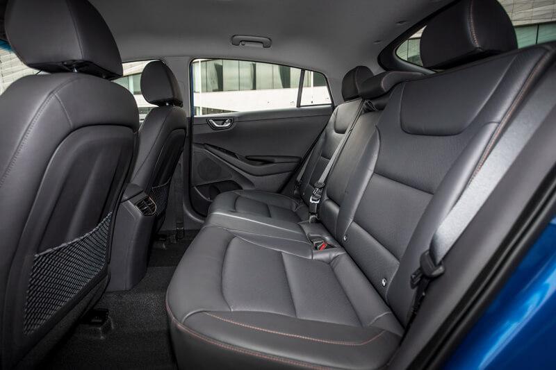 Hyundai Ioniq Electric Interior Rear