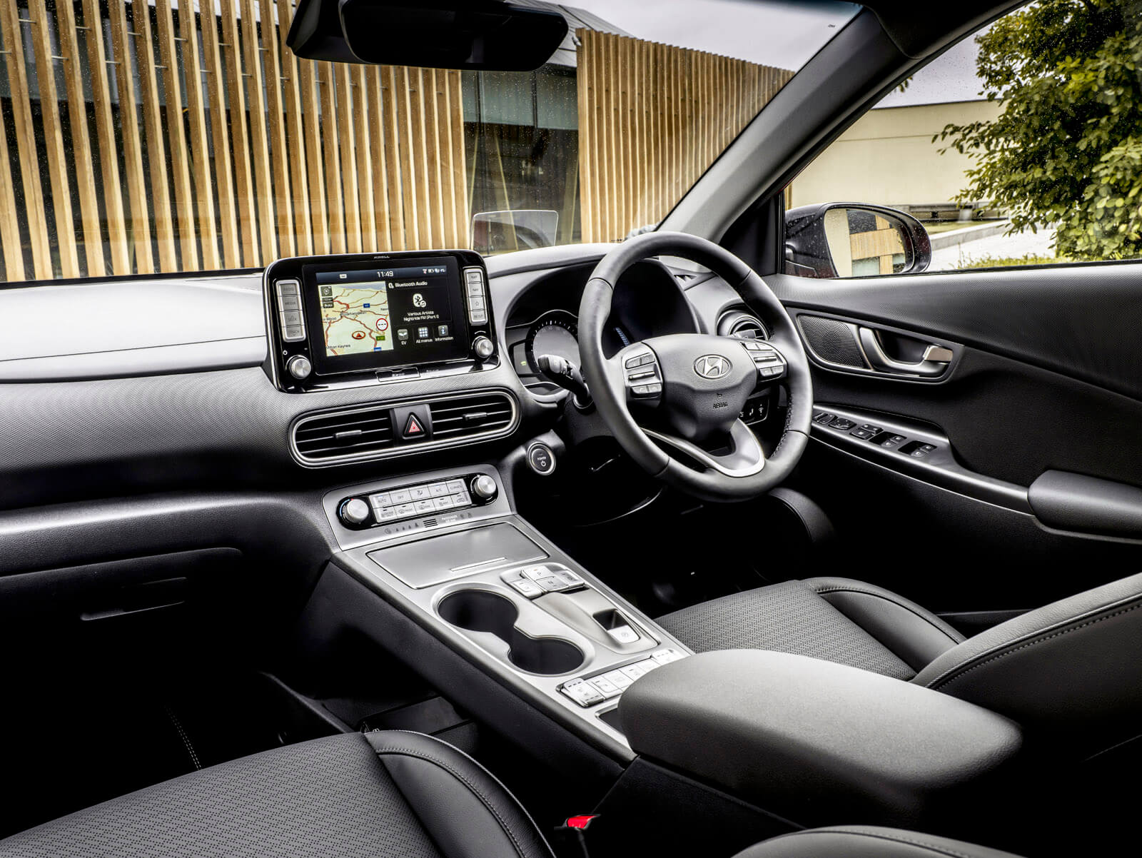 Hyundai Kona Electric Interior Front