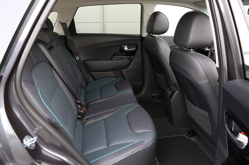 Kia e-Niro Interior Rear