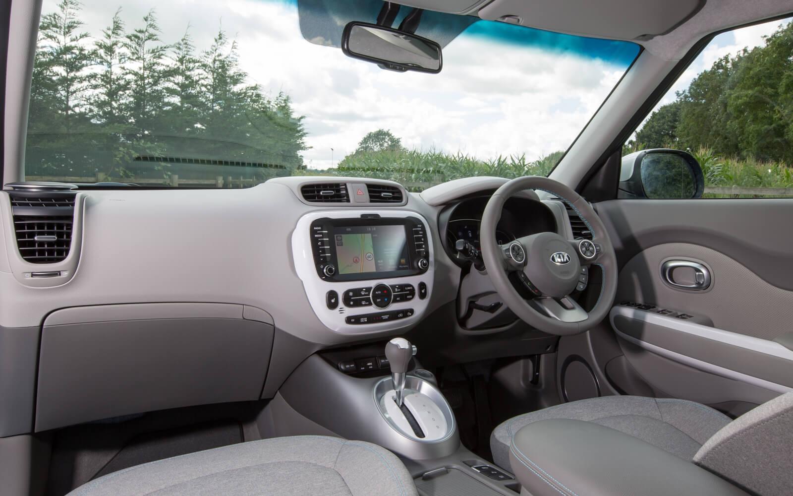 Kia Soul EV Interior Front
