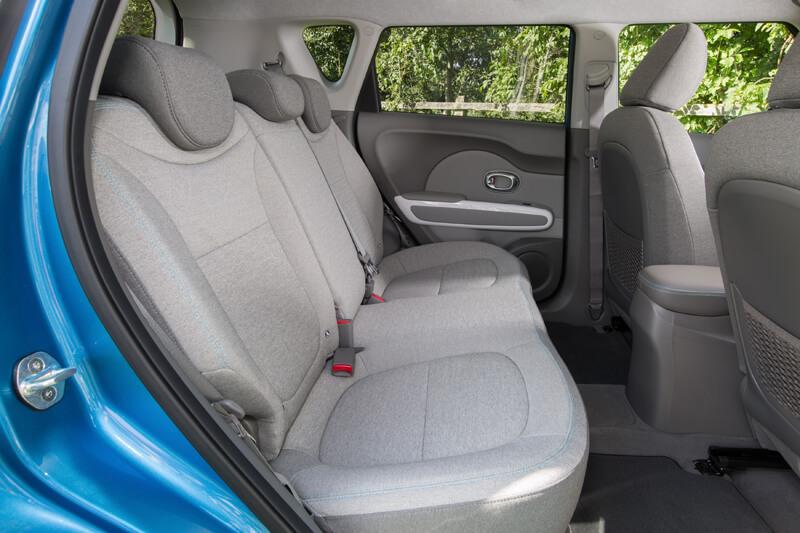 Kia Soul EV Interior Rear