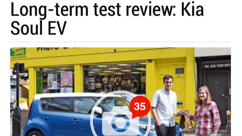 Kia Soul EV Review Auto Express