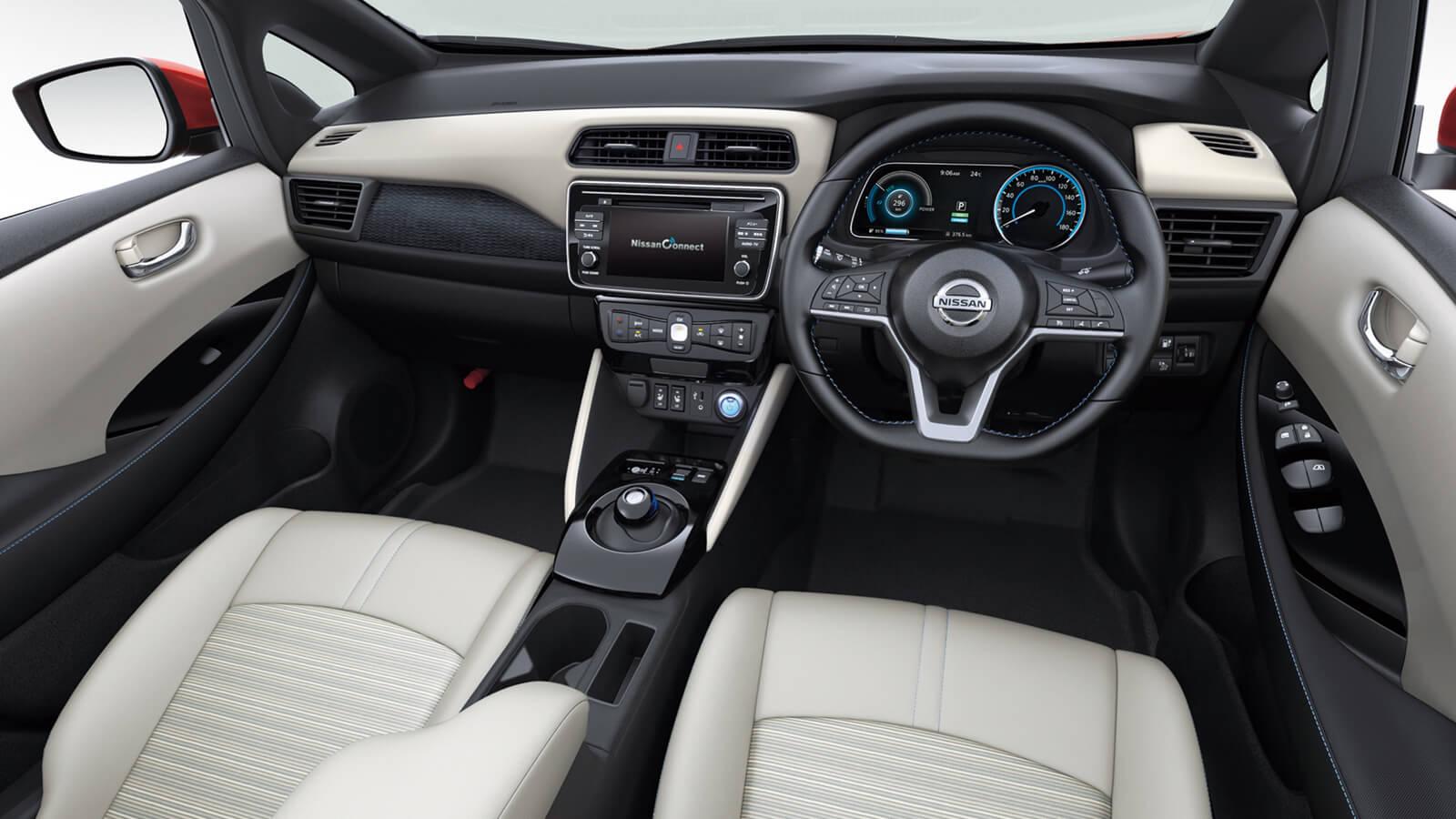 Nissan Leaf Interior Front