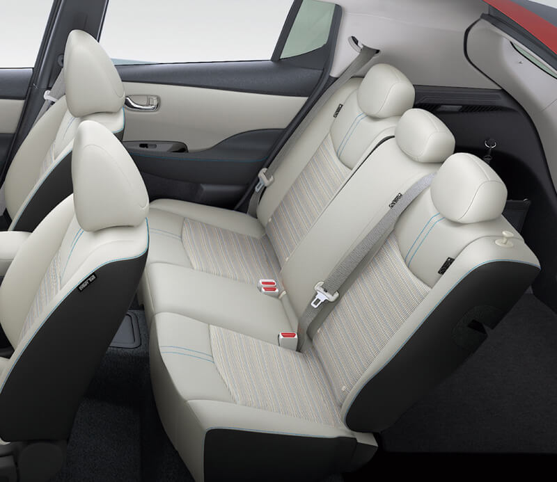 Nissan Leaf Interior Rear