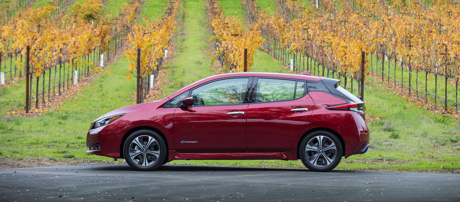 Nissan Leaf Range