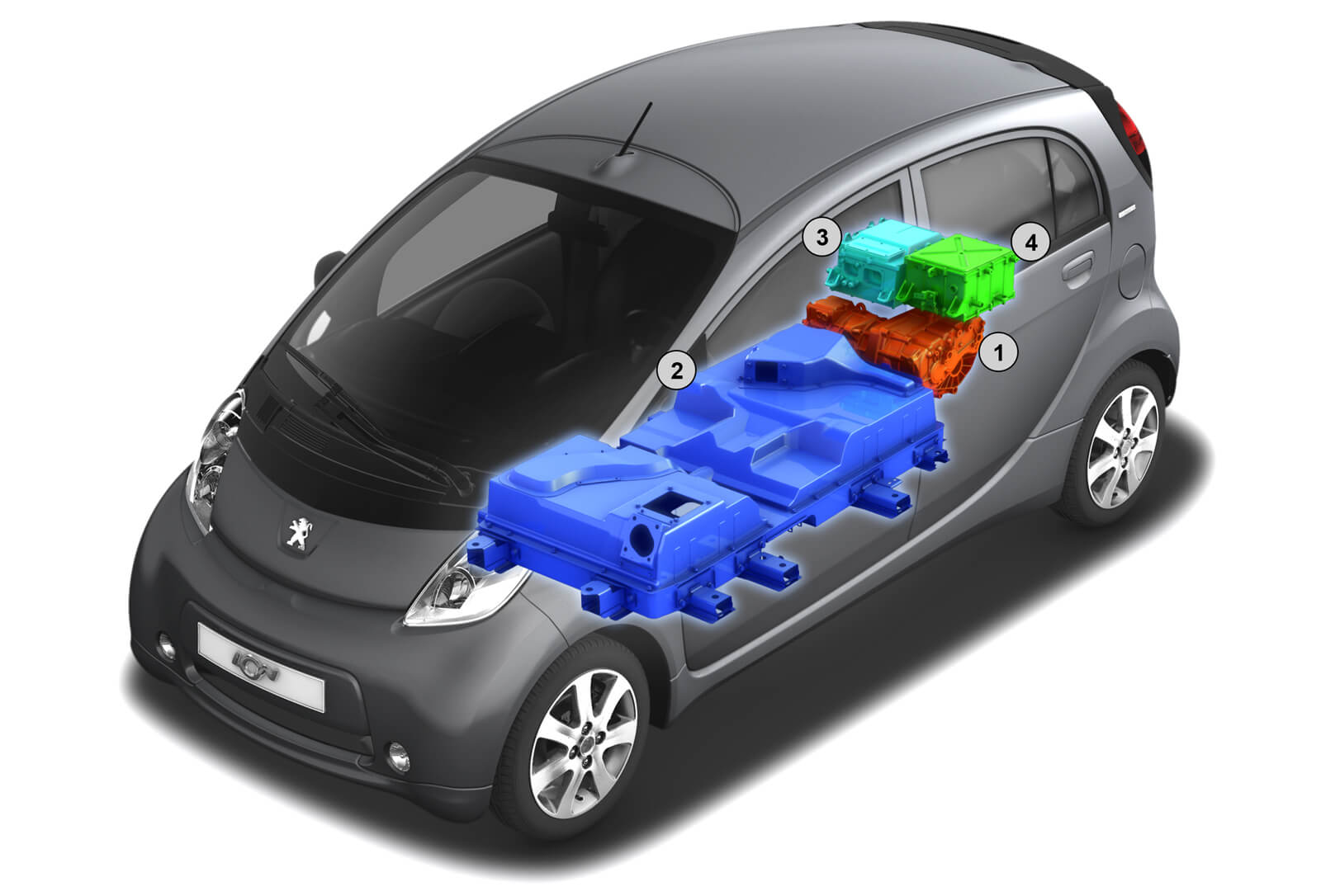 Peugeot iOn Battery