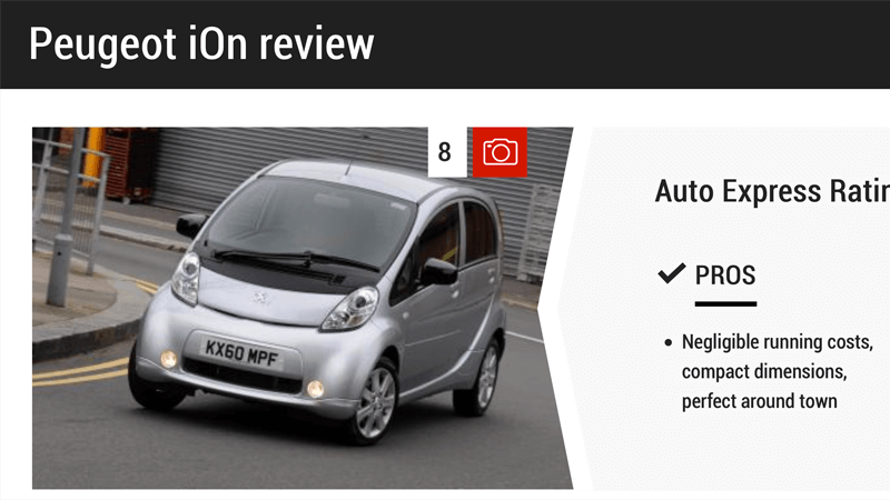 Peugeot iOn Review Auto Express