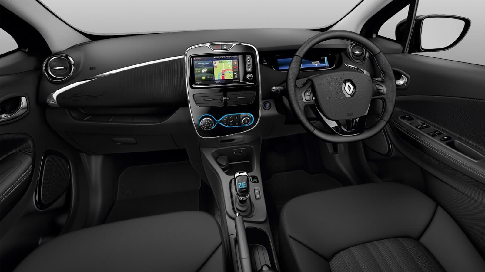 Renault Zoe Interior Front