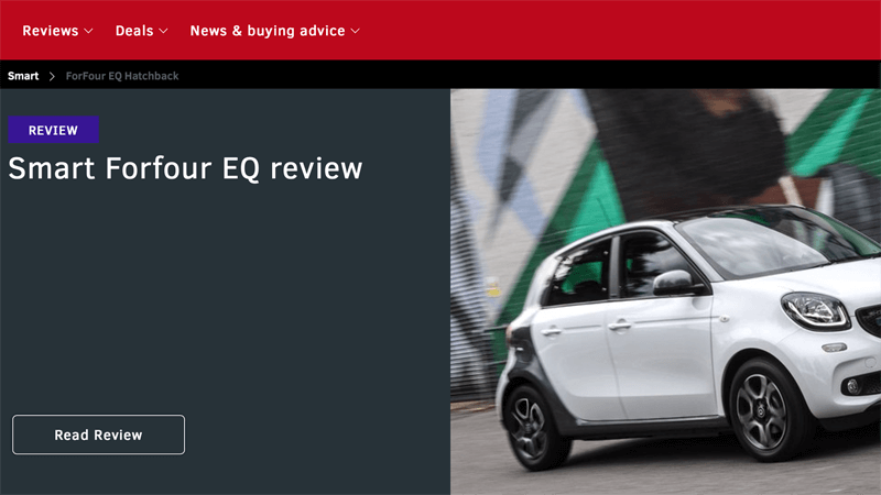 Smart EQ forfour Review What Car