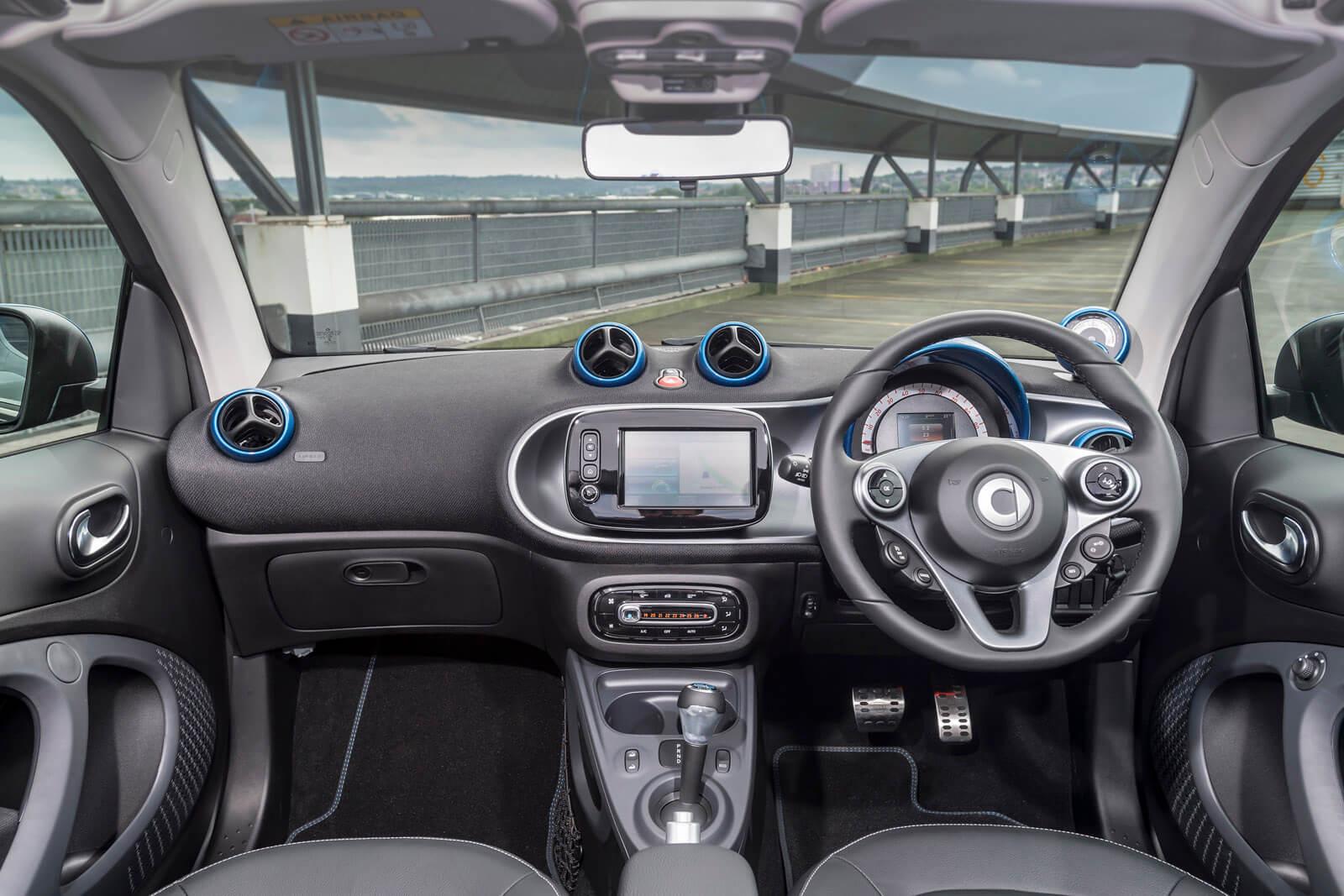 Smart EQ fortwo Cabrio Interior Front