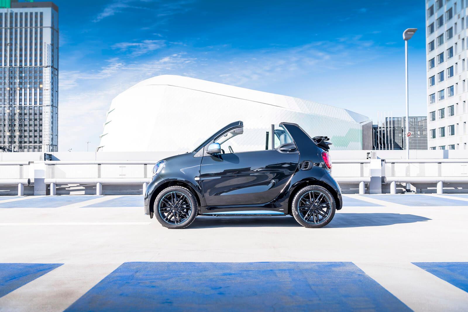 Smart EQ fortwo Cabrio Side