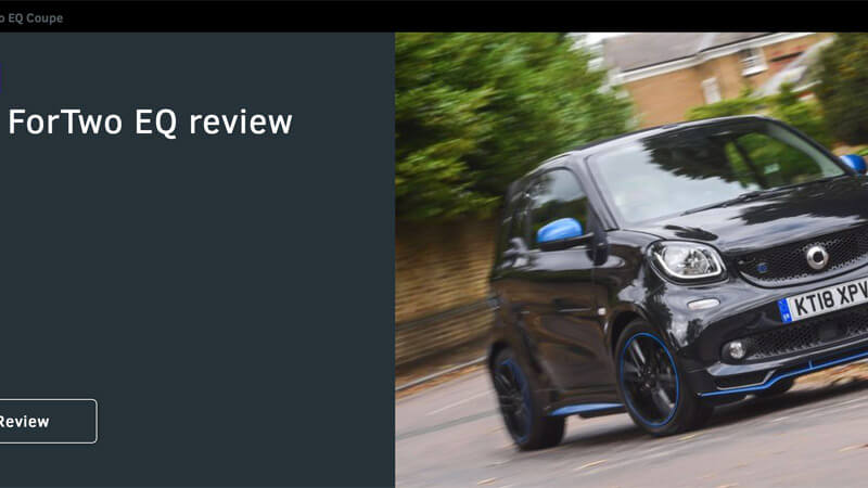 Smart EQ fortwo Review What Car