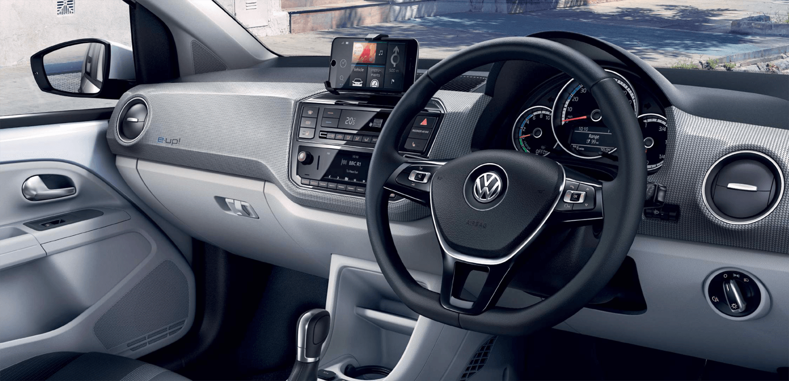VW e-up Interior Front