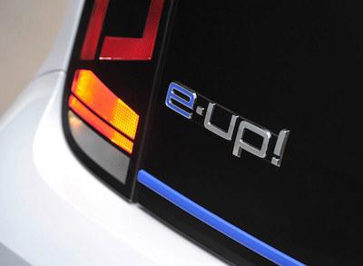VW e-up Range