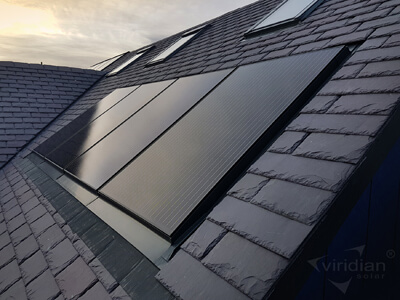 In-roof Solar Panels