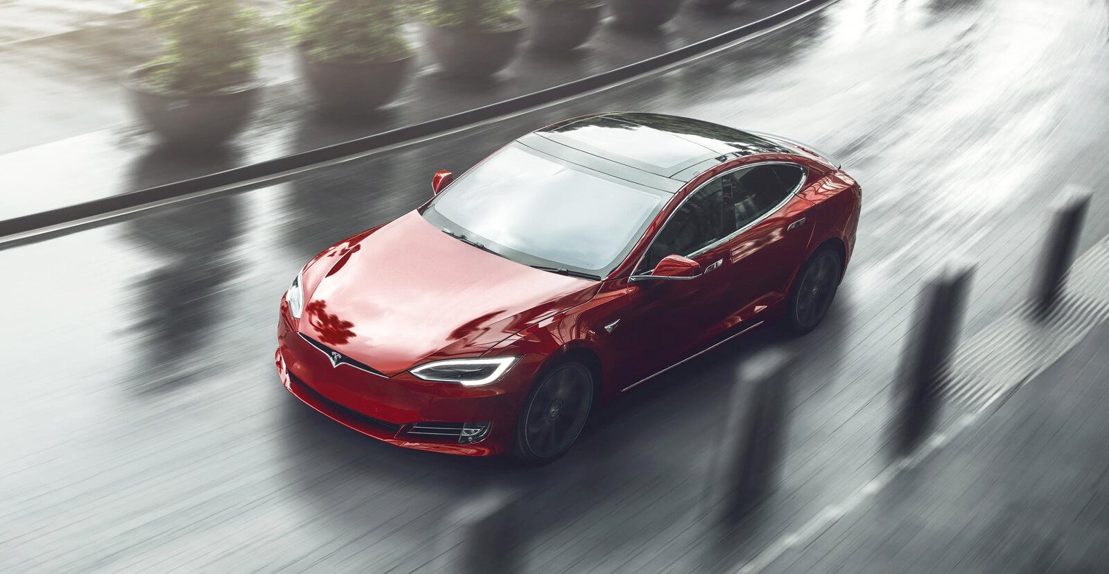 Second hand Tesla Model S