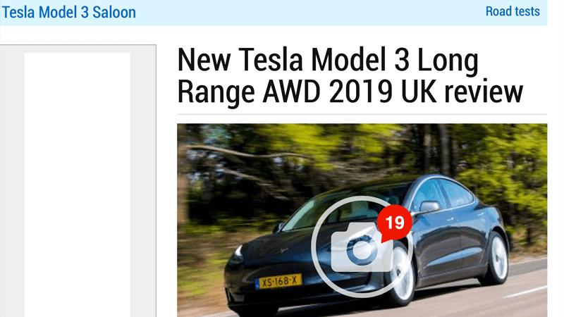 Tesla Model 3 Review Auto Express