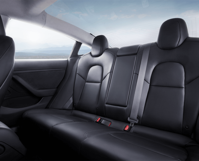 Tesla New Model Interior