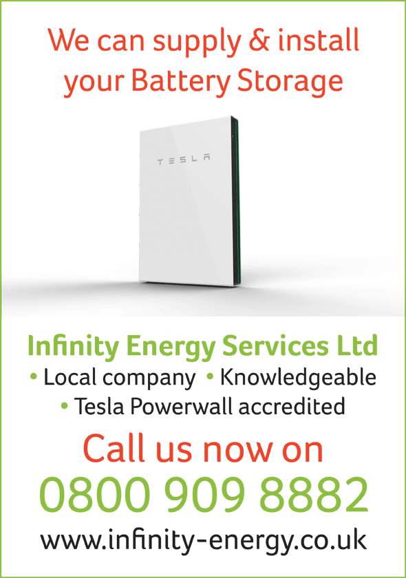 Infinity Energy Services Battery Storage