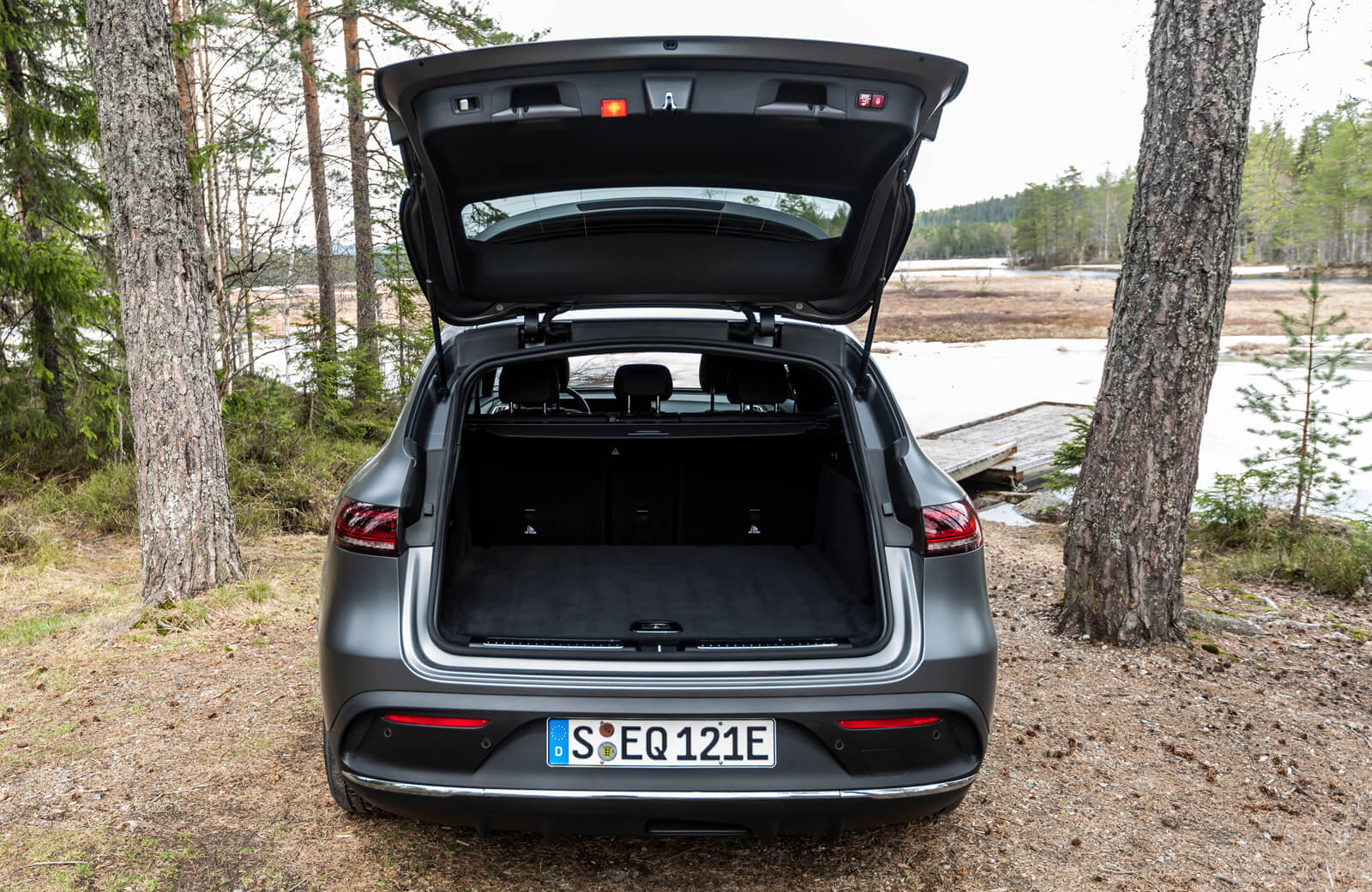 EQC Mercedes Boot