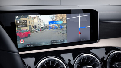 EQC Sat Nav Augmented Reality