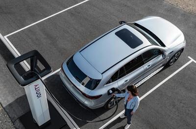 Mercedes Benz EQC Charging