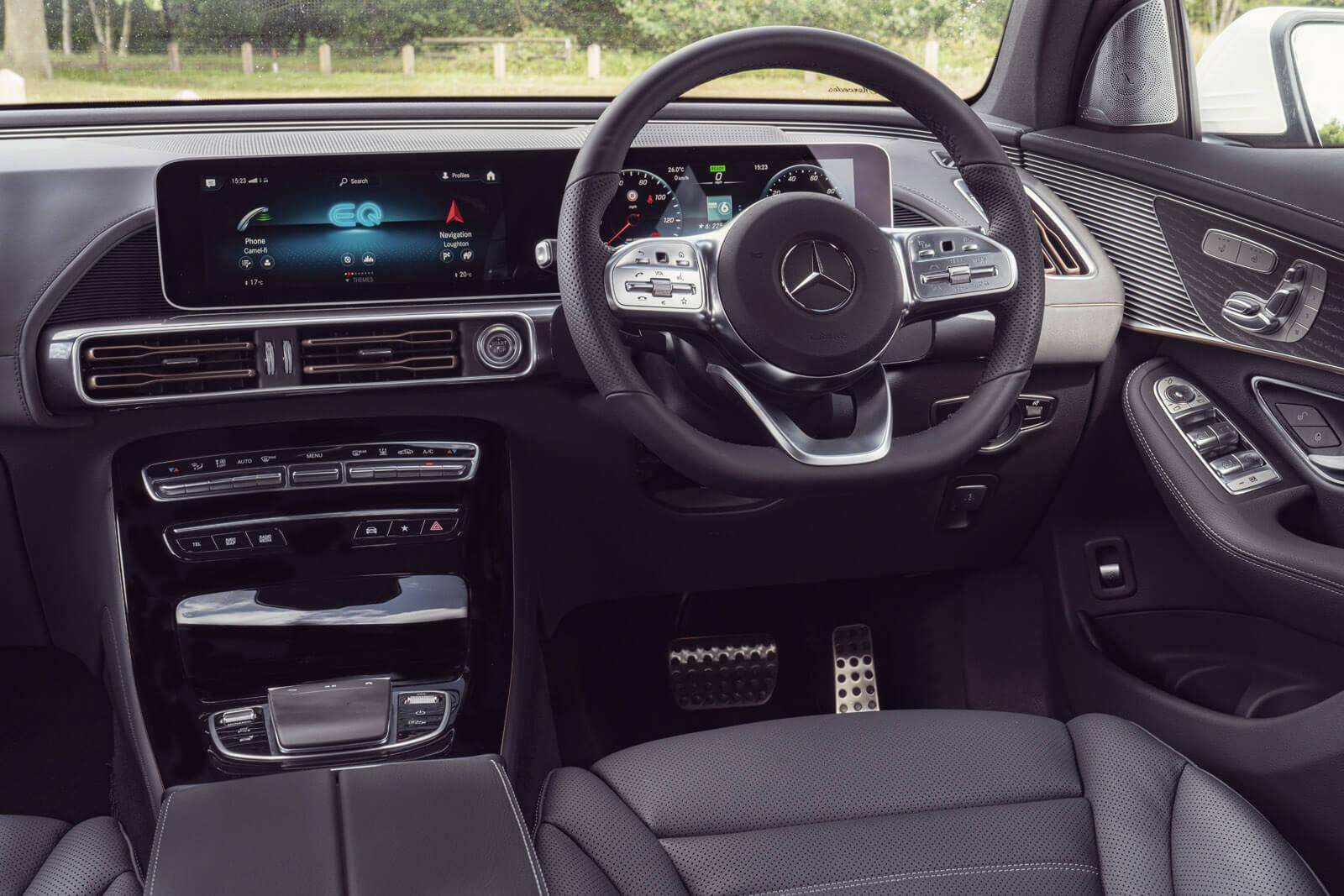 Mercedes EQC Range