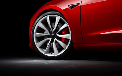 Tesla Model 3 20-inch Performance Wheels