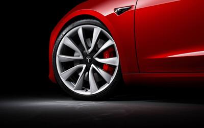 Model 3 20-inch Performance Wheels