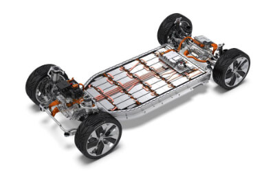Electric car battery range