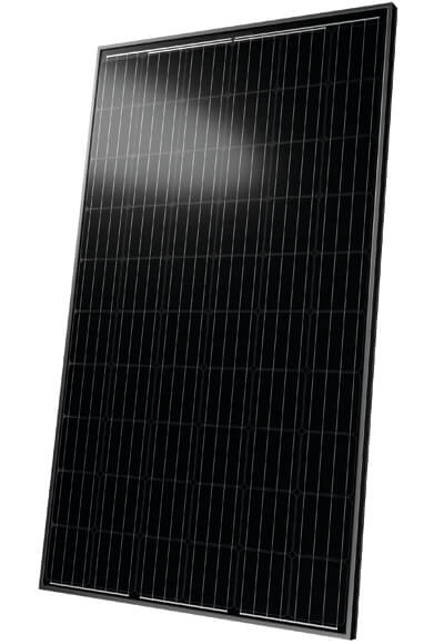 Solar panel front