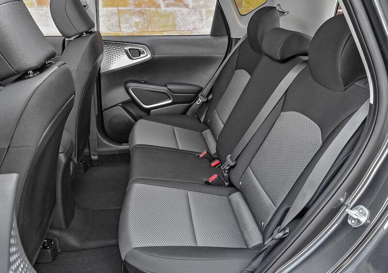 e-Soul rear seats